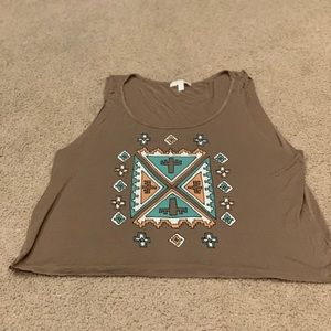 GB Aztec tank top